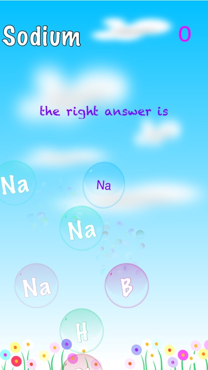 Periodic Table of Elements Bubble Pop Free Test screenshot-0