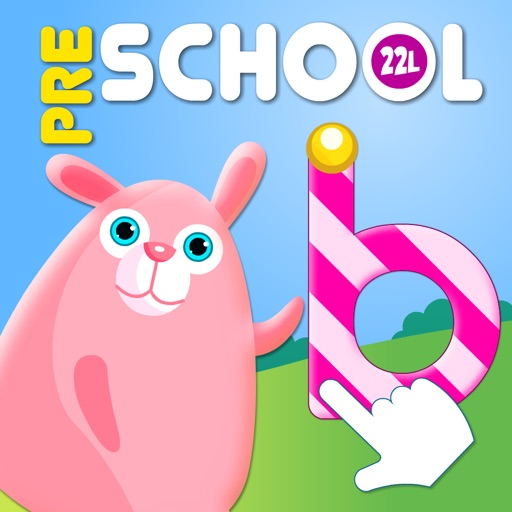 Preschool! Learning Games • Tracing, Spelling, Coloring Book with Cute Animals & Easter Match (Toddler, Pre-K, Kindergarten) - My First Words School Adventure: Letters and Phonics A to Z, Logical Math