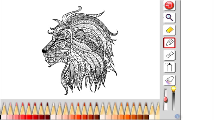 Adult Coloring Book - Animals and Birds Edition screenshot-3