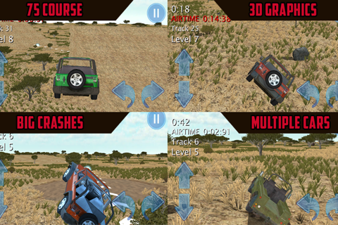 Jeep Jump N Jam 4x4 Racing 3D screenshot 2