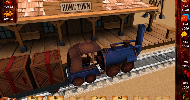 Trains of the wild west screenshot-3