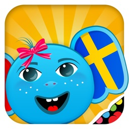 iPlay Swedish: Kids Discover the World - children learn to speak a language through play activities: fun quizzes, flash card games, vocabulary letter spelling blocks and alphabet puzzles