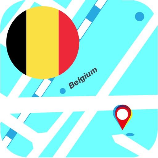 比利時離線地圖