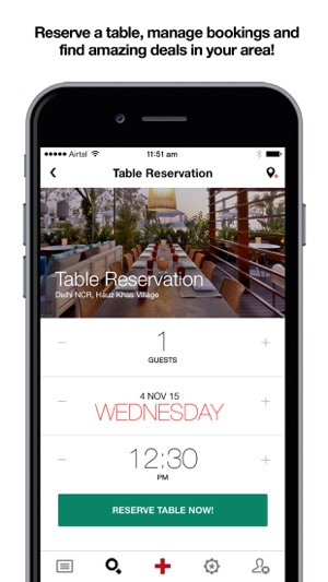 Spooner Eat Like Share On The App Store - Table reserve app