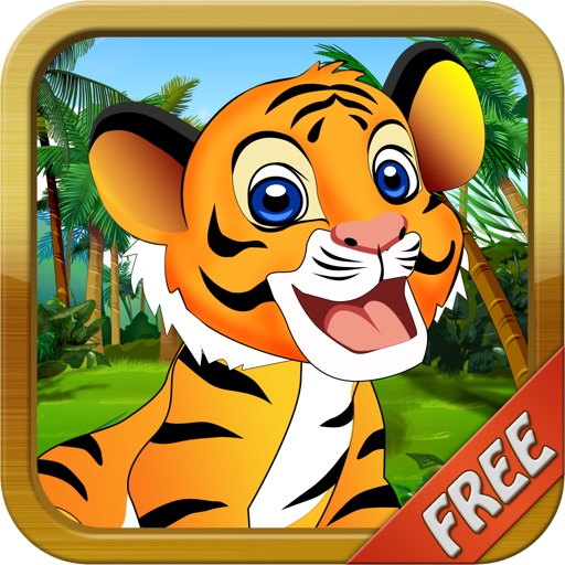 Baby Tiger Run FREE - Addictive Animal Running Game icon
