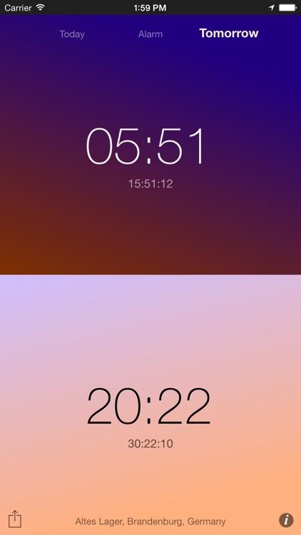 Sun Alarm screenshot-4