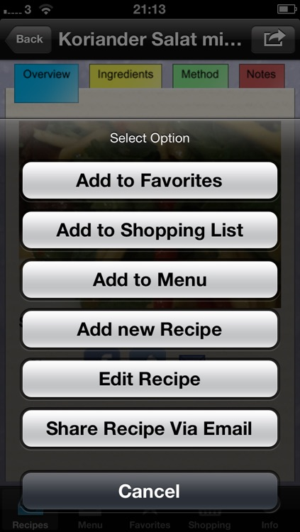 My Recipes Manager screenshot-4