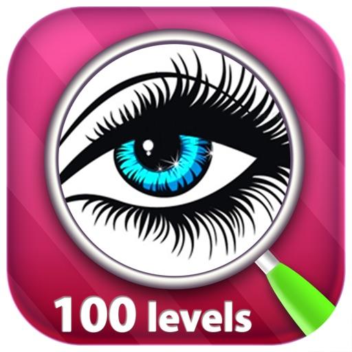 Найти отличия 100 уровней
