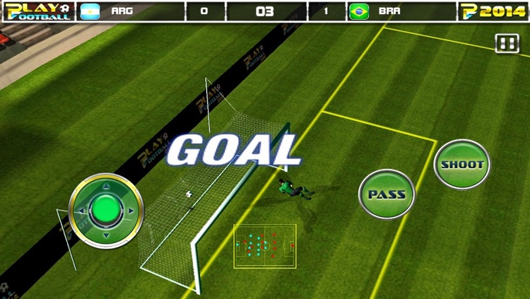 Play Football 2014 Real Soccer - Fantasy Simulation and a Comprehensive Manager Sports Game For iPhone and iPad Pro screenshot-2