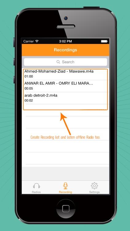 Arabic Radio Live screenshot-3