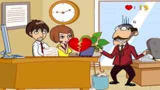 Office Kissing screenshot three