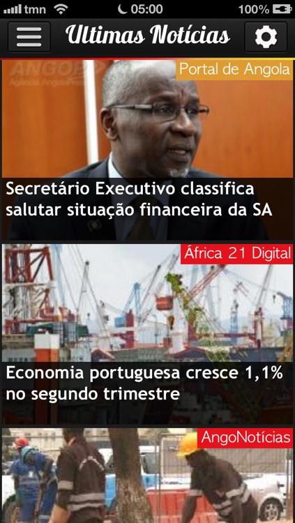 iAngola Pro - Notícias de Angola screenshot-4