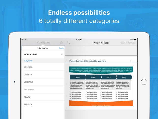 Templates Bundle for iWork on the App Store