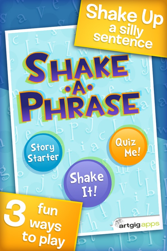 Shake-a-Phrase: Fun With Words and Sentences - Online Game Hack and