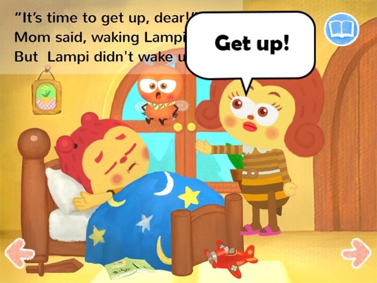 Kids Story Books-Lampi HD1 (preposition UP)