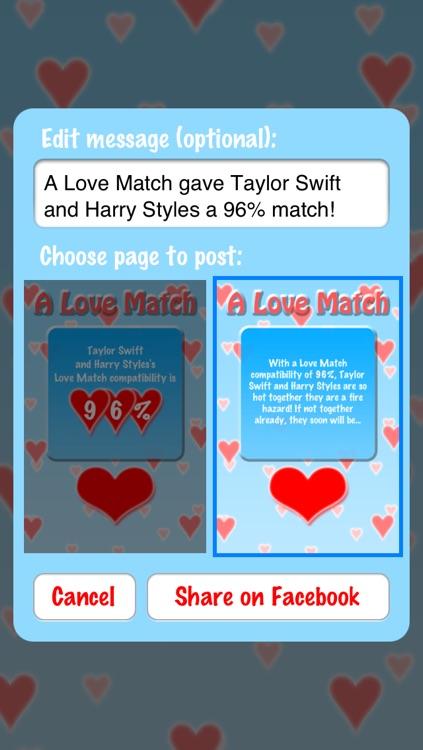 A Love Match: Compatibility Calculator screenshot-3
