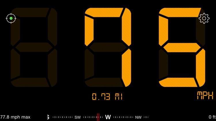 Speedometer Free Speed Box app image