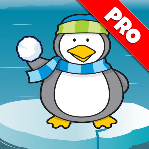 Penguin Snowball Fight Pro icon