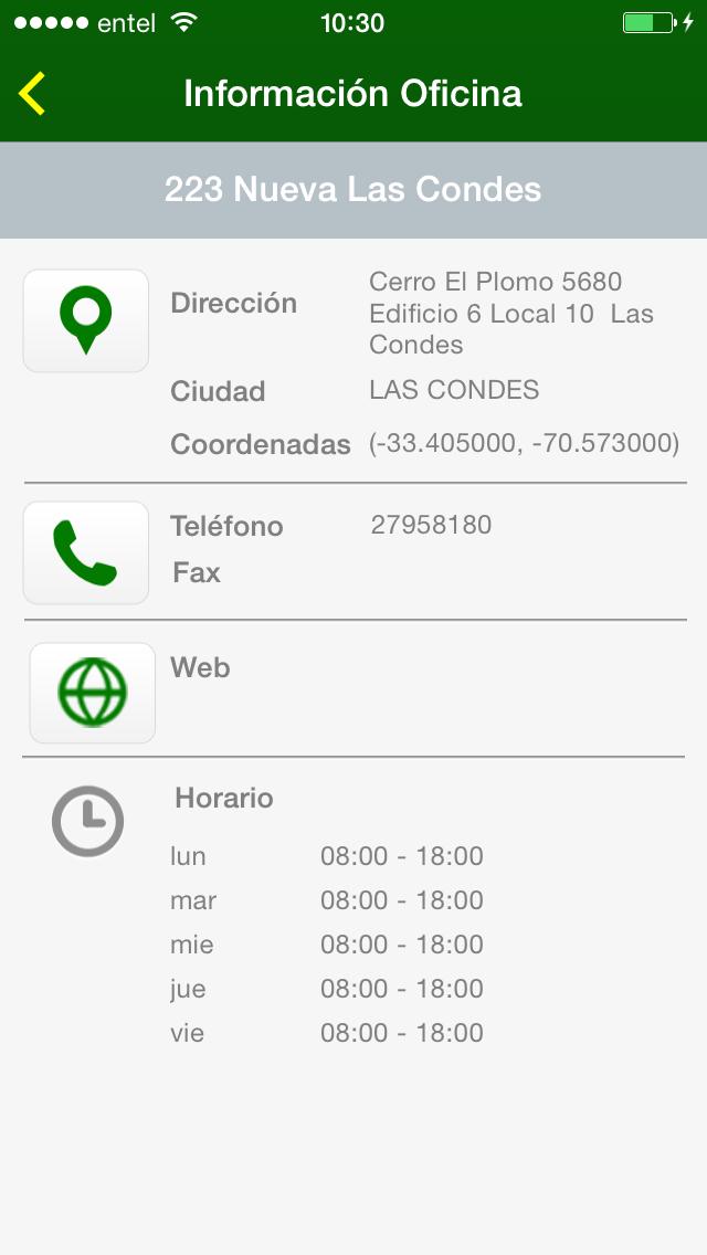 点击获取Europcar Chile