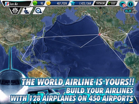 Screenshot #2 for AirTycoon Online