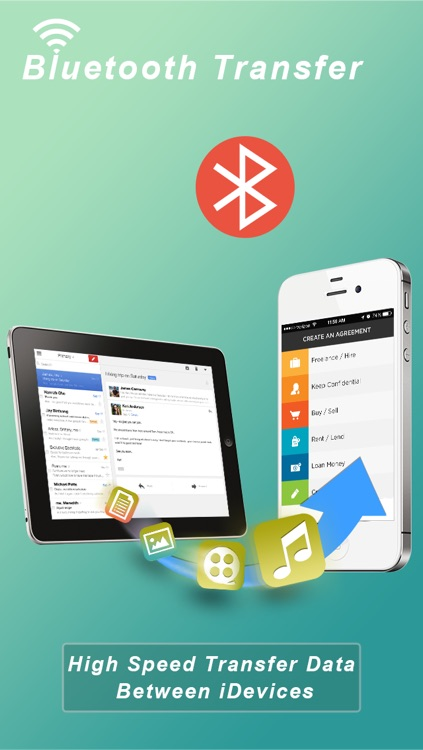 Bluetooth Share File/Photo/Music/Contact Transfer screenshot-2