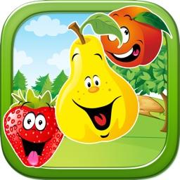 Exotic Fruit Crasher - Match Three Fruits - FREE Tap Puzzle Fun