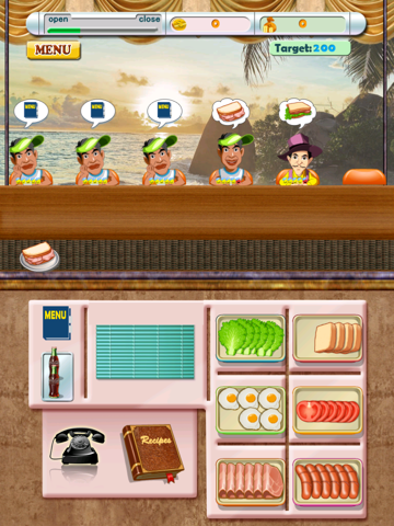 Sandwiches Maker Free - Cooking Games Time Management : the