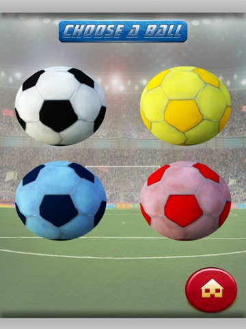 3D Soccer Field Foot-Ball Kick Score - Fun-nest Girl and Boy Game for Free-ipad-1