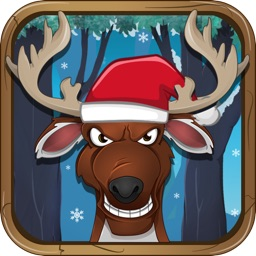 Santa's Reindeer Ice Race Stampede - FREE Running Adventure !