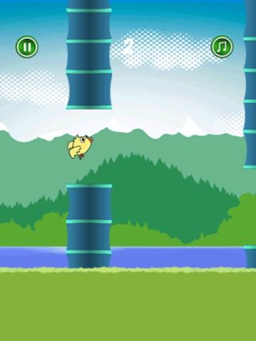 Happy Bird Flyer - Fun Birdie flying adventure-ipad-1