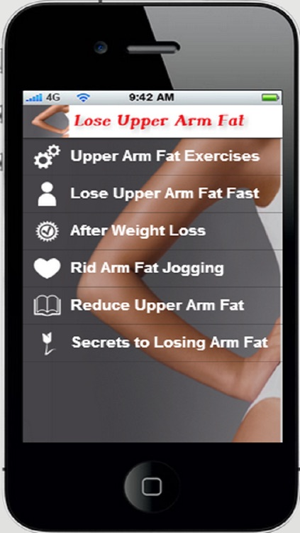Lose Upper Arm Fat App:Get Rid of Arm Fat Now and Forever+