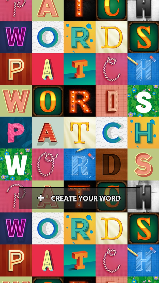Patchwords: create your own word of art!