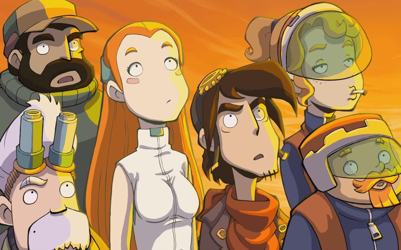 Chaos on Deponia Screenshot