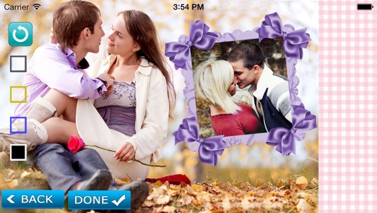 Romantic Photo Frames screenshot-3