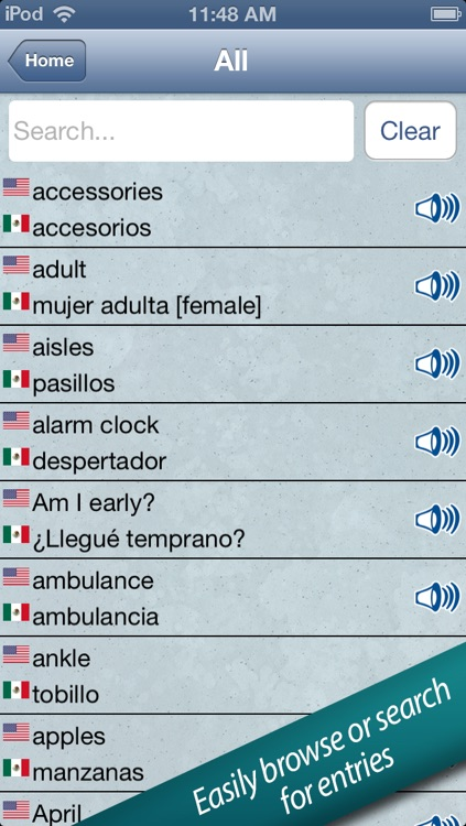 Spanish in a Flash – Learn Quick with Easy Speak & Talk Flashcards! screenshot-3