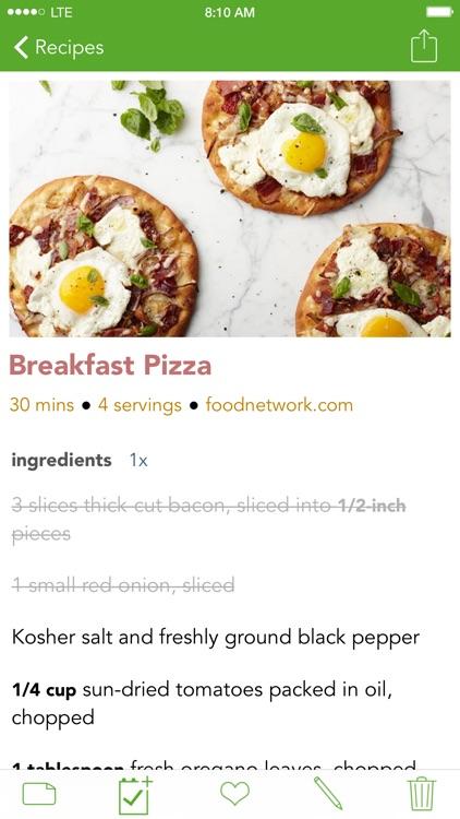 Basil Recipe Manager. Organize and Cook Your Recipes! screenshot-0