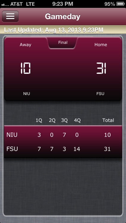 Florida State Football Live screenshot-4