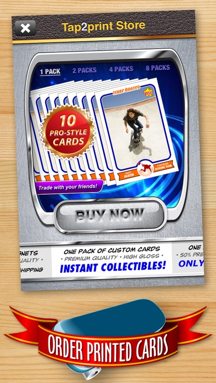 Skateboard Card Maker - Make Your Own Custom Skateboard Cards with Starr Cards screenshot-4