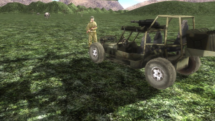Safari 4x4 Driving Simulator 2: Zombie Poacher Hunter screenshot-0