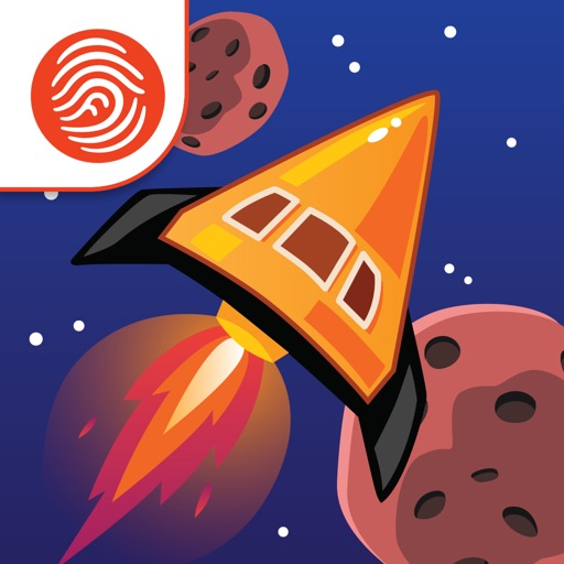 Angle Asteroids Math - A Fingerprint Network App