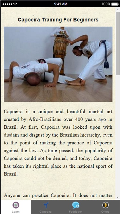Capoeira Training For Beginners