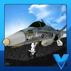 Activities of Airport 3D Jet plane parking