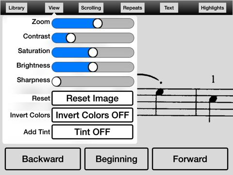 Music Zoom iPad