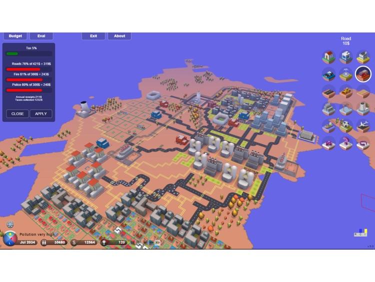 3D.City - Build Your Dream City !