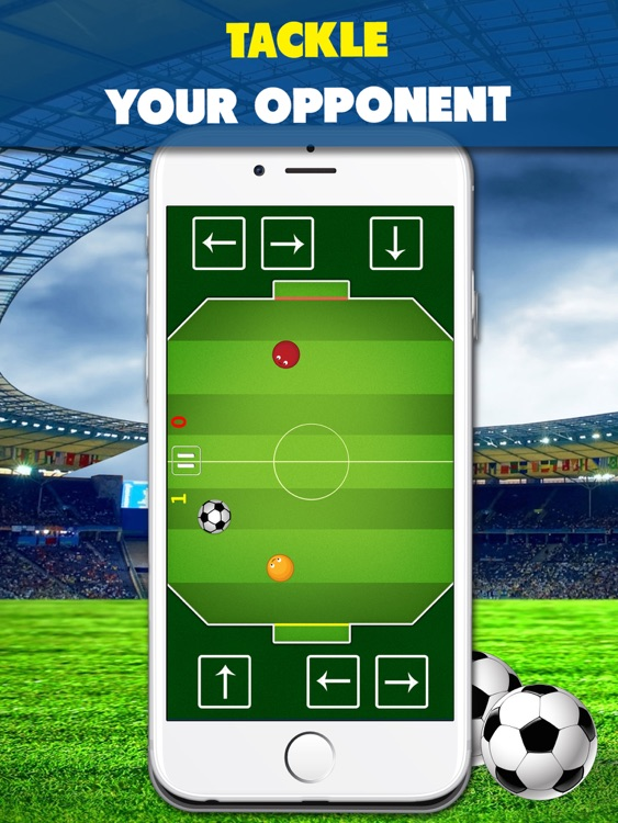 Chaos Soccer Scores Goal for iPad - Multiplayer football flick screenshot-3