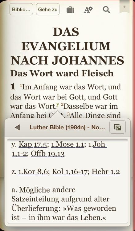 Die Bibel nach der Übersetzung Martin Luthers screenshot-3