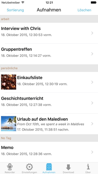 Screenshot for Ultimate Voice Recorder in Austria App Store
