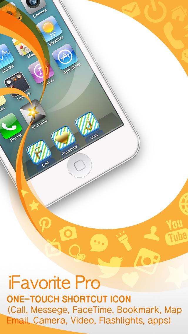 ワンタッチコール、メッセージ、URL、ホー... screenshot1
