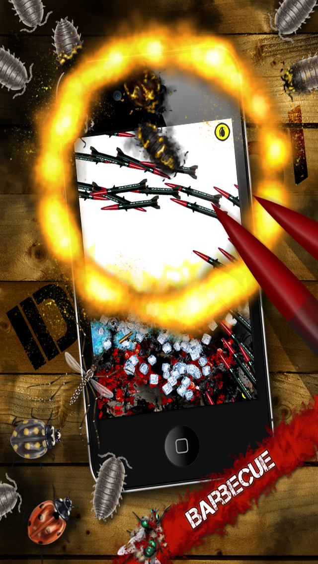 iDestroy Reloaded - torture the bloody bugs with awesome weapons in a sandbox screenshot three