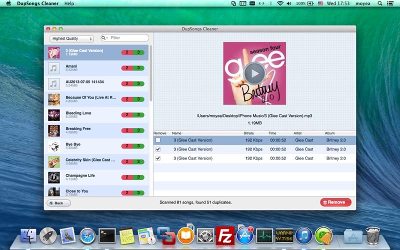 DupSongs Cleaner Screenshot